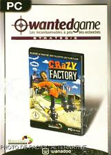 NEUF: Jeu CRAZY FACTORY pour PC game francais simulation gestion usine marketing