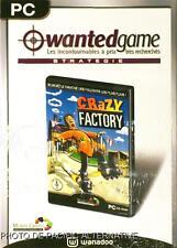 NEUF: Jeu CRAZY FACTORY pour PC game francais simulation gestion usine marketing