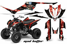 ATV Decal Graphic Kit Quad Sticker Wrap For Yamaha Raptor 350 2004-2014 MAD R K