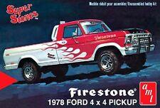 AMT 1978 Ford Firestone 4X4 Pickup 1/25 Scale Model Truck Kit NEW