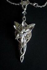 Lord of the Rings Arwen Evenstar Costume Jewellry Pendant Necklace Noble Gift
