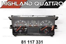 Audi 80 / 90 coupe GT Quattro instrument cluster speedometer 81117331