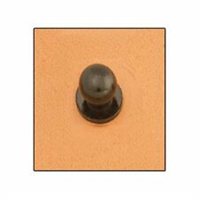 Button Stud 7mm Screwback Black Tandy Leather 11309-17