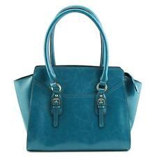 Emilie M. Morgan Satchel Women Blue Satchel NWOT