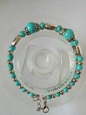 Tibet Handmade Turquoise Bracelet 0.01 Auction 1