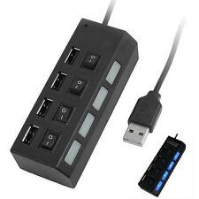 USB2.0 Hub 4 Porte Interruttore LED per PC Tablet Laptop Computer Linux 2.4 HKIT