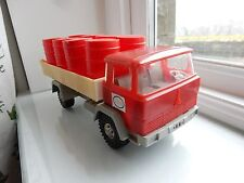 AUTOMOBILIA ADVERT ? ESSO TRUCK PACKED FULL  1960S ERA  FUEL TRUCKER MAN CAVE