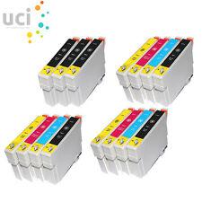 15 Cartuchos de tinta para Epson Stylus DX3800 Dx3850 DX4200 DX4250 DX4800 Dx4850
