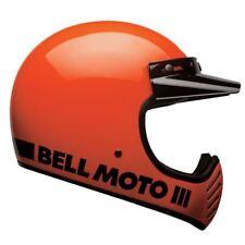 Bell Moto 3 Classic Flo Orange Motorcycle Helmet Medium 57-58cm BH7081029