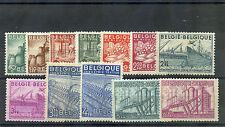 BELGIUM Sc 374-85(MI 804-15)*F-VF OG OR LH 1948 SET $135