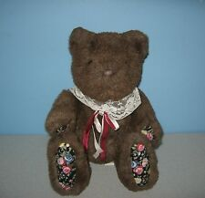Menagerie The Bear First & Main Flower Paws Teddy Plush Special Collection