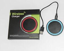 Base di ricarica QI wireless universale per smartphone Samsung Iphone Nokia Sony