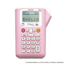 Hello Kitty Label Printer Pink Pt J100ktp 35mm To 12mm Width Tape From Japan