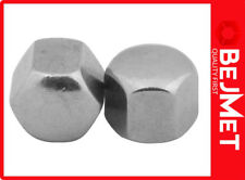 M 16 DIN 917 A2 Stainless Steel nut hexagon cup nuts (SET 10-PIECES)
