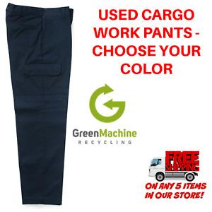 Used Uniform Work Pants Cargo Cintas Redkap Unifirst G&K Dickies etc