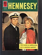 4-COLOR  HENNESEY  #1280  DELL  1961 VF/NM  MOVIE/TV ..PHOTO-c