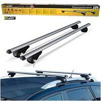 M-Way 135cm 90kg Lockable Aluminium Car Roof Rack Rail Bars for BMW X5 E53 99-06