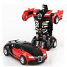 1:32 Bugatti Mini Cars Model Transformer Robot Pull Back Vehicles Toys Boys Gift