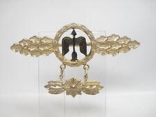 Luftwaffe Frontflugspange für Tagjäger in gold mit Sternanhänger