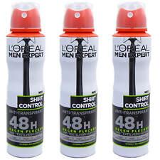 (26,56 €/L ) 3 x 150 ml L'Oréal Men Expert Shirt contrôle Antiperspirant