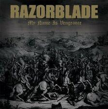 RAZORBLADE My Name Is Vengeance NEW LP Black Vinyl Oi! Punk