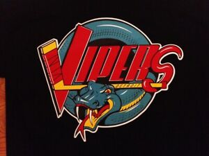 IHL Hockey Detroit Vipers Embroidered T-Shirt S-6XL, LT-4XLT Red Wings New