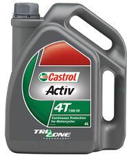 Castrol Activ 4T 15W50 mineral four-stroke engine oil 4-litre