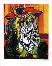 Pablo PICASSO Weeping Woman Limited Edition Signed Giclee 13 x 20