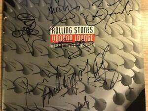 "ROLLING STONES ""VOODOO LOUNGE"" Programme signed ? memorabilia"