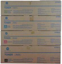 4x Konica Minolta Genuine TN510K/TN510C/TN510M/TN510Y SET Copier Toner TN 510