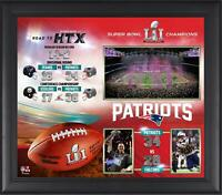 New England Patriots Framed 15'' x 17'' Super Bowl LI Champs Collage - Fanatics