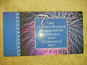 """2000 MILLENNIUM COINAGE AND CURRENCY SETS """"40 SETS AVAILABLE"""""""