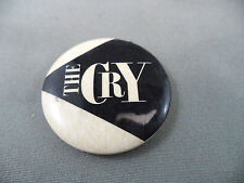 THE CRY Vintage Celluloid Covered Tin Button H.A.S. Novelties Toronto