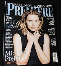 1999 Premiere MICHELLE PFEIFFER Steve Mcqueen LEELEE SOBIESKI (LIKE NEW)
