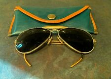Vintage Ray-Ban Aviator Sunglasses, Gold Tone with a Case