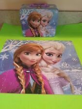 Disney Frozen Princesses Lunch Box and Puzzle includes four other puzzles