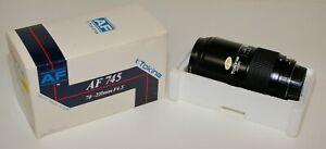 Tokina AF 745 70-210mm Zoom lens Pentax 35mm film or digital SLR       Lot 2020