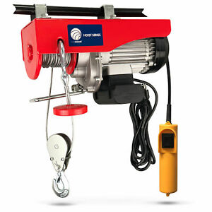 880 LB. Overhead Electric Hoist Crane with 20FT Remote Control - FO-3781