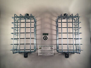 Bearmach Land Rover Series 2 & 3 Rear Mesh Light Guards / Cages BR1645