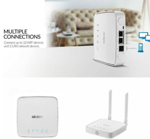 NEW Alcatel Link Hub Router 4G LTE - Global Unlocked - HH41NH