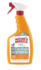 Nature's Miracle Oxy Formula Dual Action Stain&Odor Remover-w/Light Orange Scent
