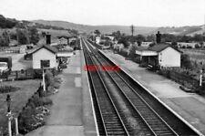 PHOTO  BAMFORD RAILWAY STATION DERBYSHIRE 1966 MIDLAND RLY SHEFFIELD - MANCHESTE