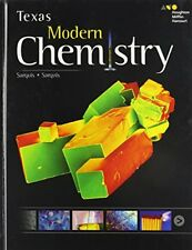 Holt McDougal Modern Chemistry Texas: Student Edition 2015 by HOLT MCDOUGAL