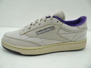 Reebok CLUB C 85 Unisex Sneaker low Walking Sport  Lauf Schuhe Gr.42 Beige Leder