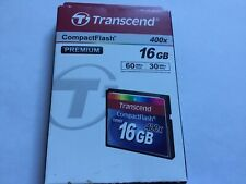 1pcs 16gb Transcend CF speed 400x compact flash  CF DSLR NIKON CANON  cameras