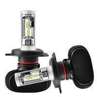H4 9003 HB2 50W 4000LM 6000K CSP LED Scheinwerfer Birnen Headlight High-Low Beam