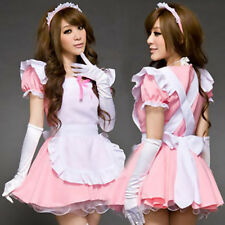 Elegant Uniform Princess Costumes Lady Cosplay Maid Lingerie Outfit Lace Dress