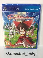 TOUHOU GENSO WANDERER + DOUBLE FOCUS SONY PS4 NUOVO SIGILLATO NEW PAL VERSION