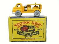 Matchbox Lesney No.28a Bedford 'S' Type Compressor Truck In 'B2' Series MOKO Box