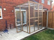 Catio / Cat Lean to 8ft X 8ft X 8ft Tall With Ladders and Shelves Secure Run 1 0 No